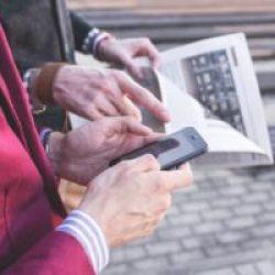 cellulare giornale